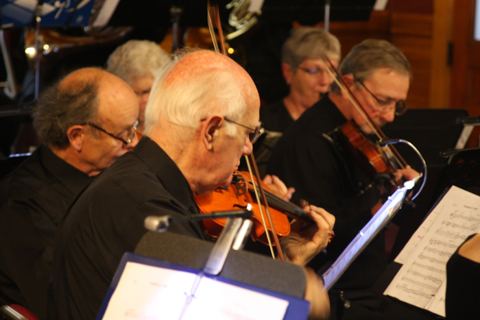 Newport Area Community Orchestra Fall Concert Draws a Crowd