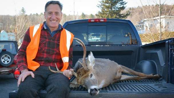 Gov. Shumlin Bags a Buck Over the Weekend, and Twitter Goes Wild