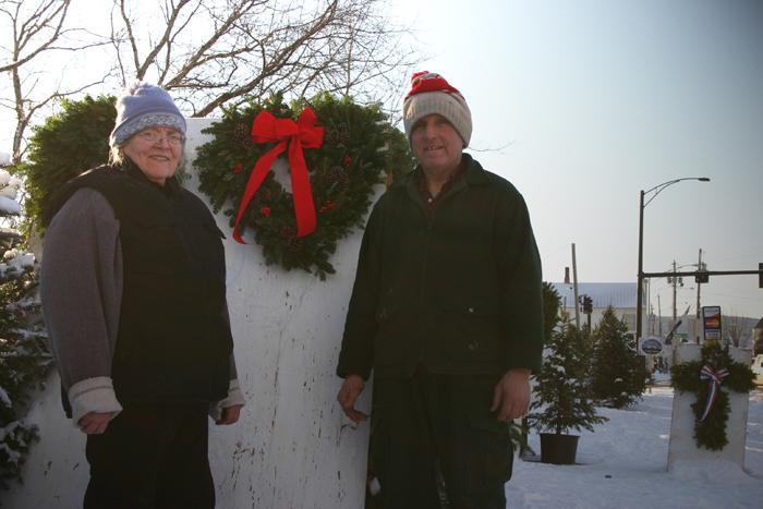 Christmas trees Newport Vermont