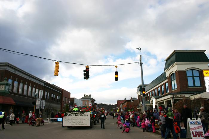 Newport Vermont Santa Festival