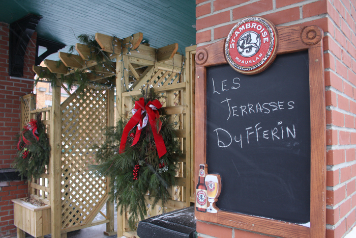 Les Terrasses Dufferin: Fine Dining at a Reasonable Price, Just Across the Border