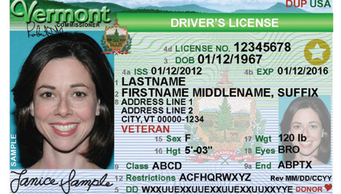 Real Id Cards Issued At Vermont Dmv Jan 2