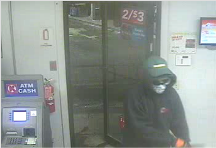 Armed Robbery at Circle K Gas Station in Barton