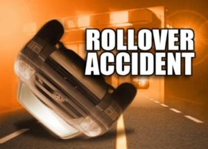rollover accident newport vermont