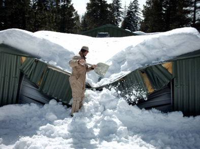 Vermonters urged to check snow loads on roofs newport for Snow loads on roofs