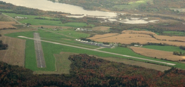 Newport Vermont Airport expansion impacting wetlands