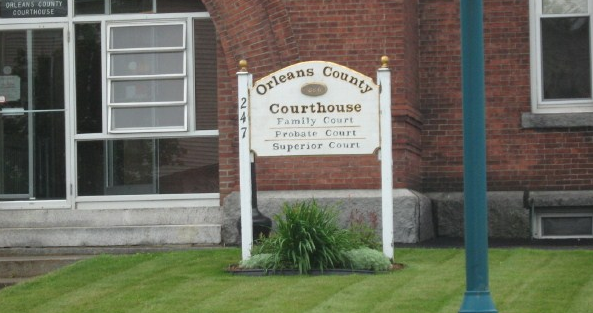 Orleans County Superior court Newport Vermont