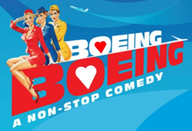 """QNEK Presents """"Boeing Boeing"""" Strating May 2"""