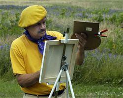 Adrien Yellow famous Newport Vermont Artist
