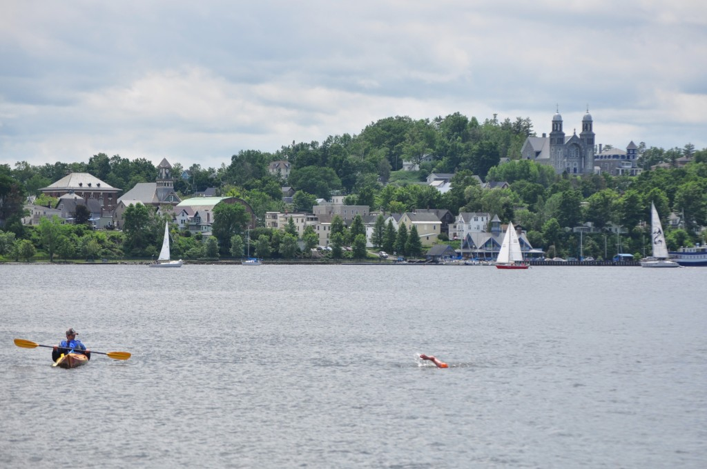 open water swimming lake memphremagog vermont newport 1
