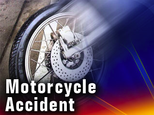 Motorcycle crash in Glover over the weekend