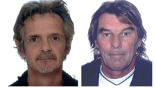 Police still looking for Raymond Demers and Wayne Rutherford. Photo courtesy of RCMP