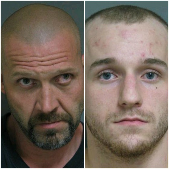 Two men charged with break-in and assault
