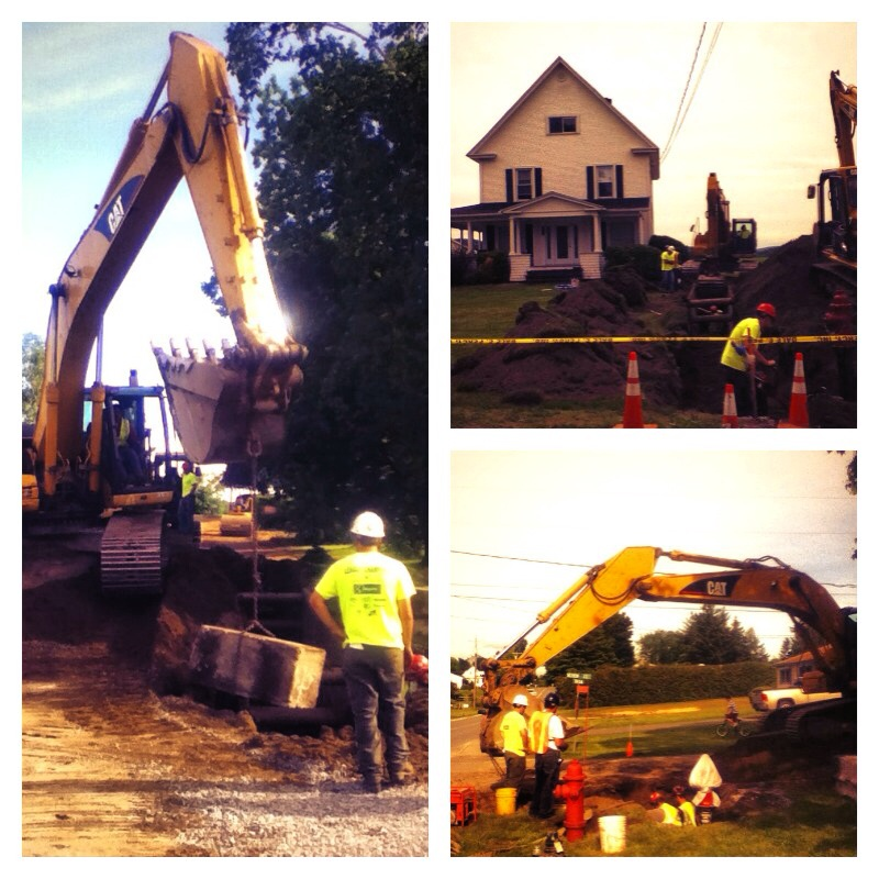 Water line project derby line vermont