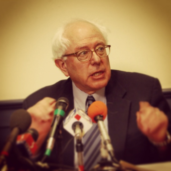 Senator Sanders says wall street driving up gas prices Vermont