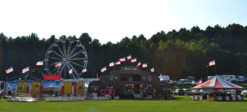 Orleans County Fair Vermont Barton 2014