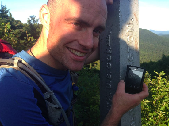 Weather and injury ends Long Trail record attempt