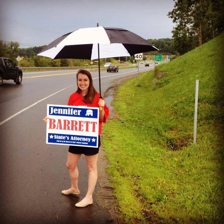 Jennifer Barrett Orleans County State's Attorney Vermont Newport