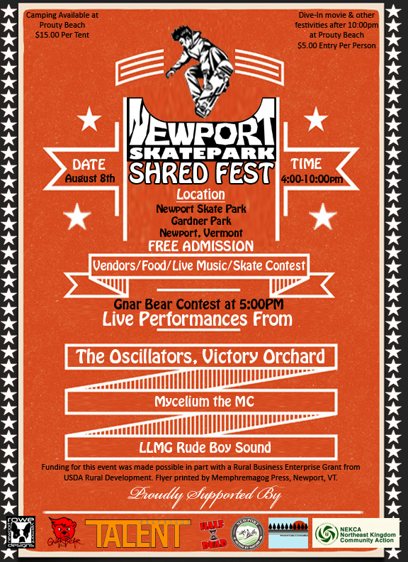 Newport Shred Fest Vermont