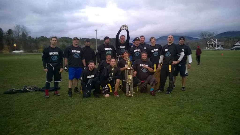 """Winners of the 2nd annual Hunger Bowl, """"Boys and Girls Club of the Northeast Kingdom."""