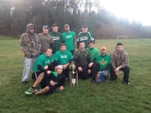 """Third Place team, """"Dirty Turtles."""""""