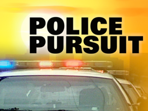 Irasburg Vermont police chase