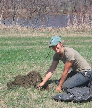 Two thousand trees planted along the upper Connecticut River in Essex County