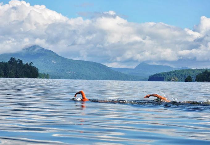 Open water swimming season underway in the NEK