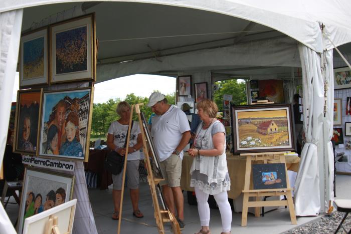 [VIDEO] Weekend des arts Bleu Pastel at the Bleu Lavande farm in Fitch Bay, Quebec