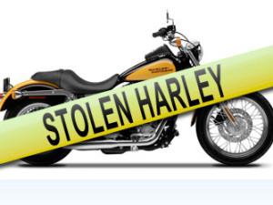stolen motorcycle Irasburg Vermont