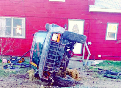 Jeep Cherokee crashes into house in Danville
