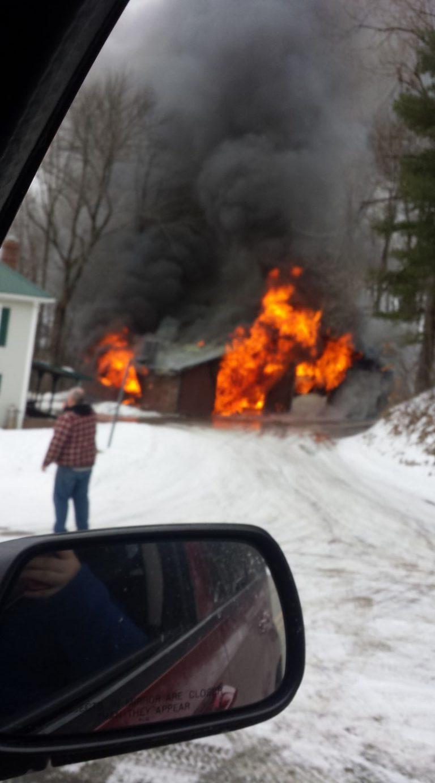 Orleans man loses truck, four-wheeler in garage fire