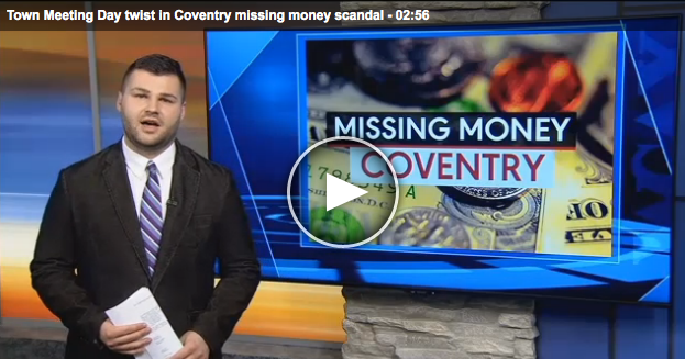 Town Meeting Day twist in Coventry missing money scandal