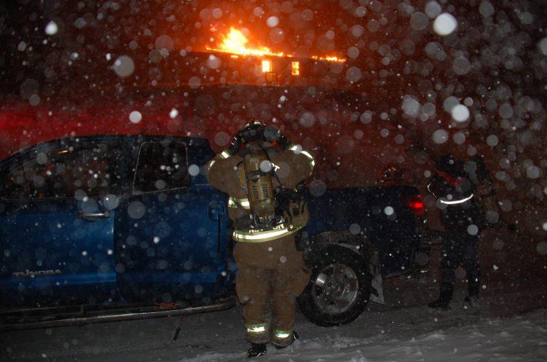 Fire destroys Newport home