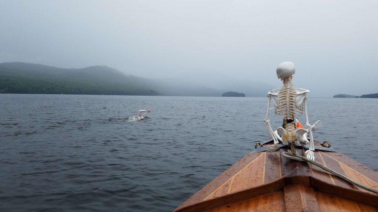 New York woman swims the length of Lake Memphremagog