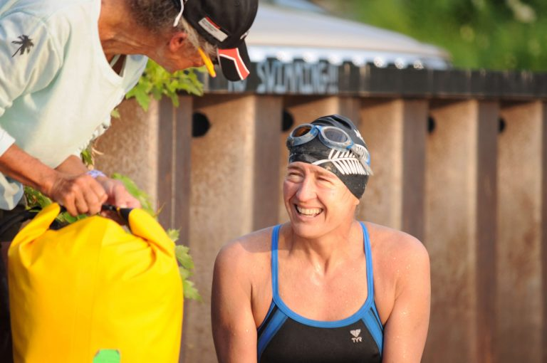 Another swimmer goes the 25-mile distance between Newport and Magog