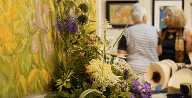 [VIDEO] Art in Bloom at the MAC Center for the Arts in Newport