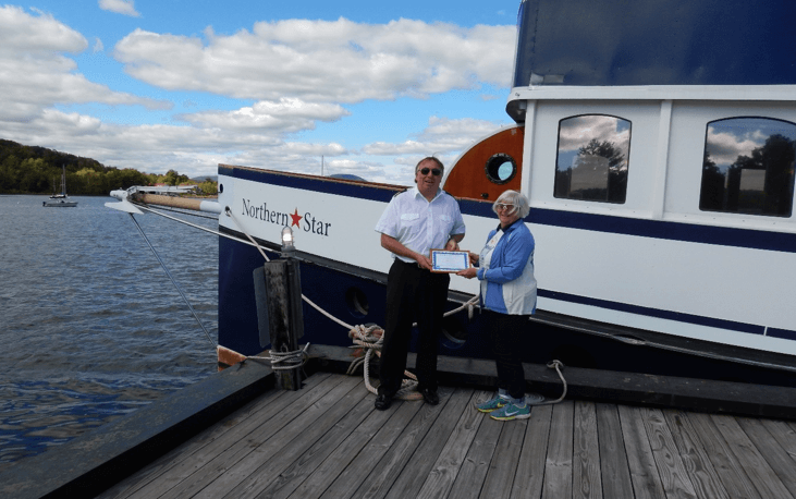 Letter: Special thank you to Captain Chris by Mary Patricia Goulding
