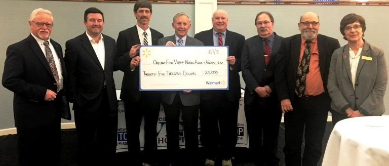 Orleans Essex VNA Hospice receives $25,000 donation from Walmart