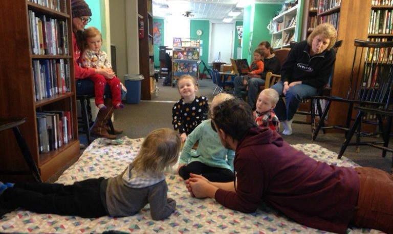 Canaan families learn how to retell a good yarn