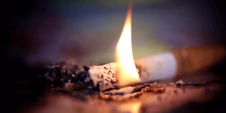 Cigarette sparks massive fire in Burke