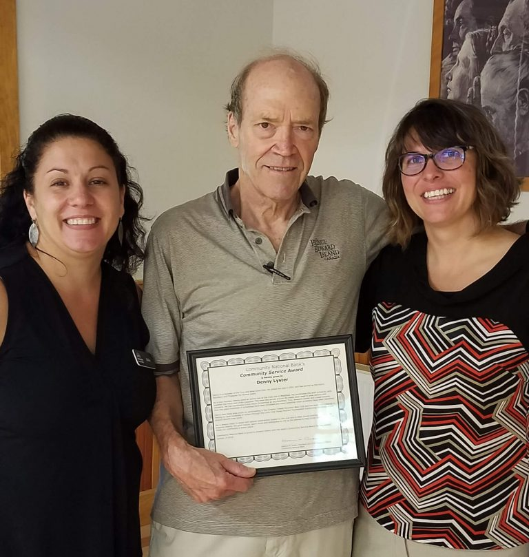 Lyster recognized for outstanding community service