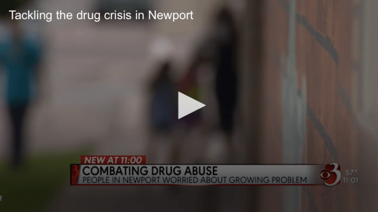 WCAX local coverage: Tackling the drug crisis in Newport
