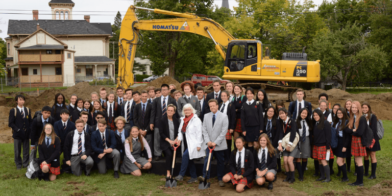Stanstead College breaks ground on new residence