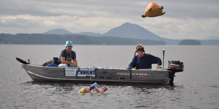 Four more swimmers complete 25-mile marathon swim from Newport to Magog