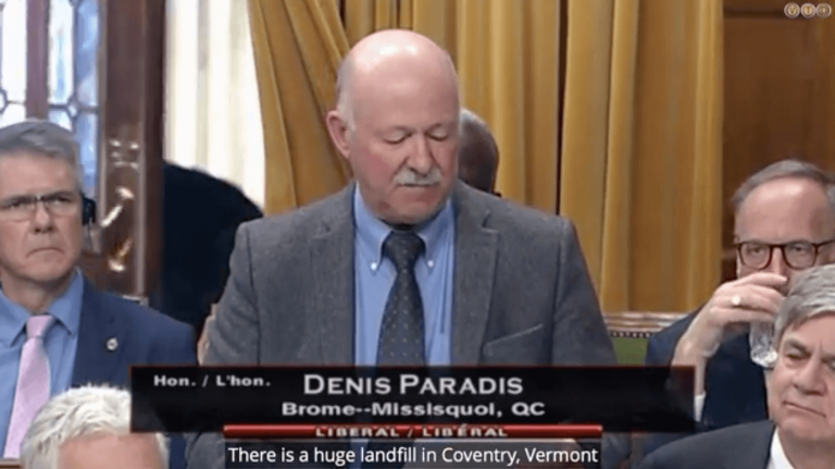 Watch as Canadian politician calls for Coventry landfill opposition