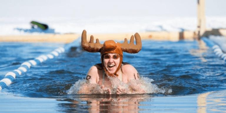 Winter swim on Lake Memphremagog going virtual this year