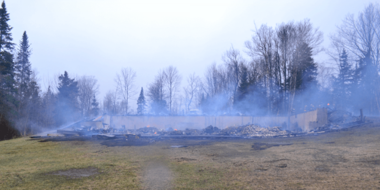 Authorities investigating explosion and fire in Holland