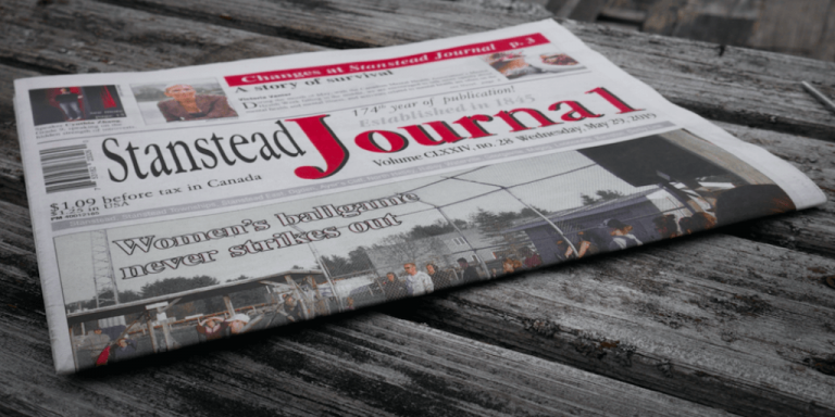 After 174 years, the Stanstead Journal closes its doors