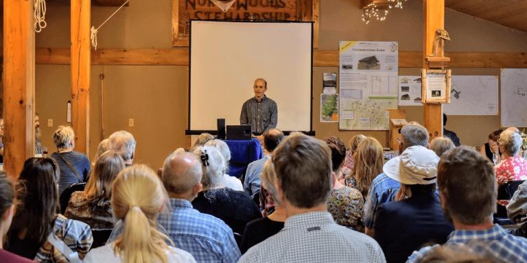 Community celebrates 30 years of NorthWoods Stewardship Center